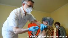 Coronavirus – Impfbeginn Sachsen Impfarzt
