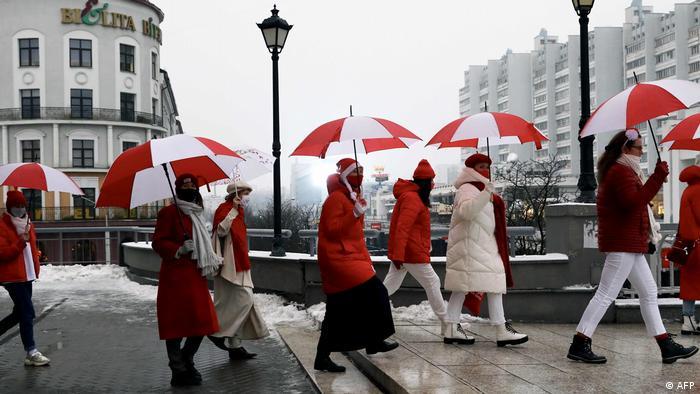 Протестная акция в Минске, фото из архива