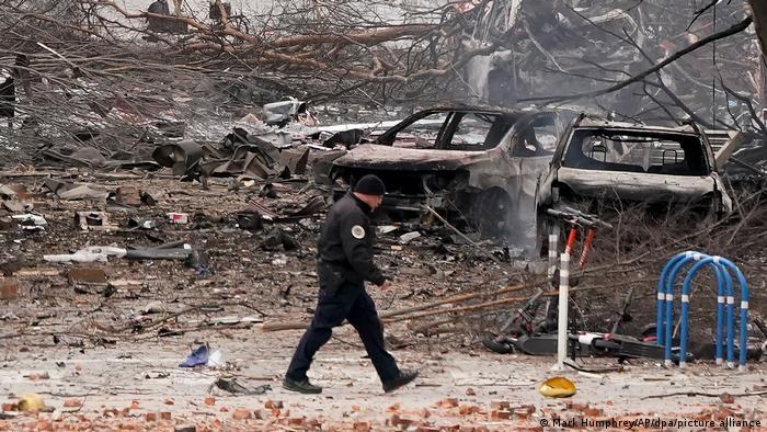 USA: Innenstadt von Nashville nach dem Anschlag vom 25. Dezember