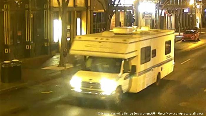 USA: Überwachungsvideo mit Tatfahrzeug des Nashville-Anschlags