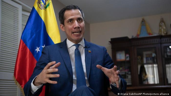 خوان گوایدو، رهبر مخالفان دولت ونزوئلا