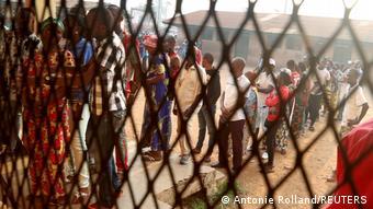 Wahlen ZAR Bangui in Petevo 8th Arrondissement