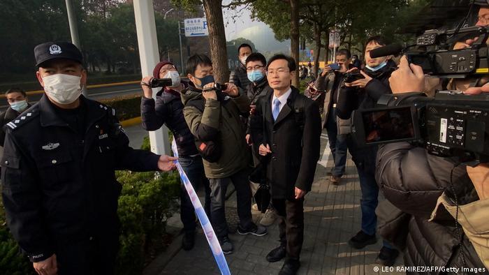 China Shanghai   Anwalt von Journalistin Bloggerin Zhang Zhan