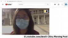 Screenshot Youtube | China Journalistin Bloggerin Zhang Zhan