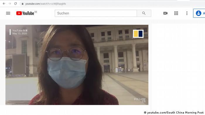 ژانگ ژان، خبرنگاری که شیوع کرونا در ووهان چین را گزارش کرد