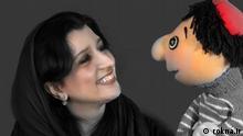 Iran Puppenspielerin Donya Fannizadeh