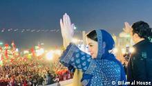 Kundgebung der Opposition in Pakistan