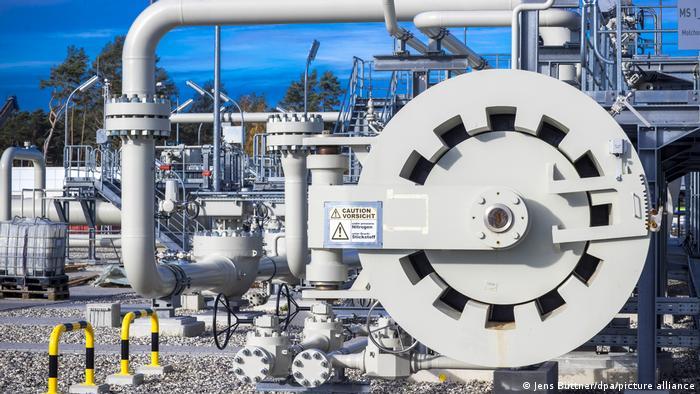Pumpna stanica na ruskom kraju plinovoda