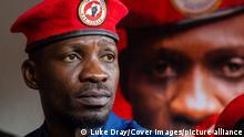 Uganda Oppositionsführer und Rapper Bobi Wine