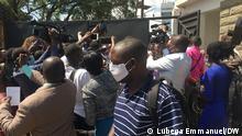 Uganda | Journalisten am Uganda Media Center