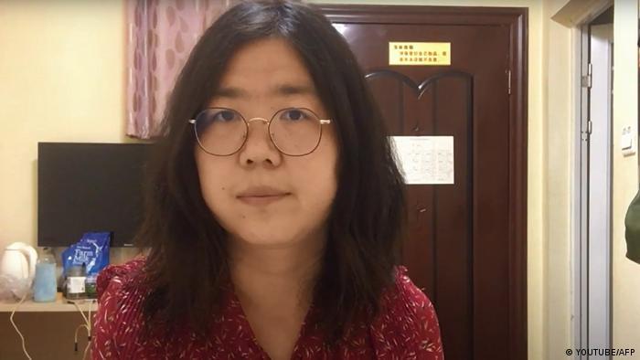 China Journalistin Zhang Zhan