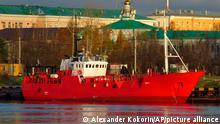 Russland Fisch-Kutter gesunken
