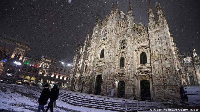 Milano u snijegu