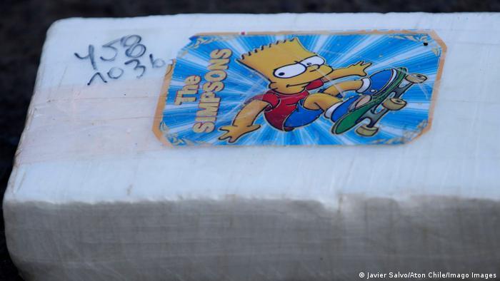 Chile   631 kg Kokain Festnahme
