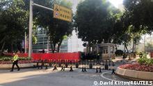 China Prozessauftakt gegen Hongkongaktivisten in Shenzhen