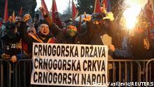 Proteste in Montenegro