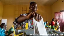 Bangui I Wahlen in Zentralafrika
