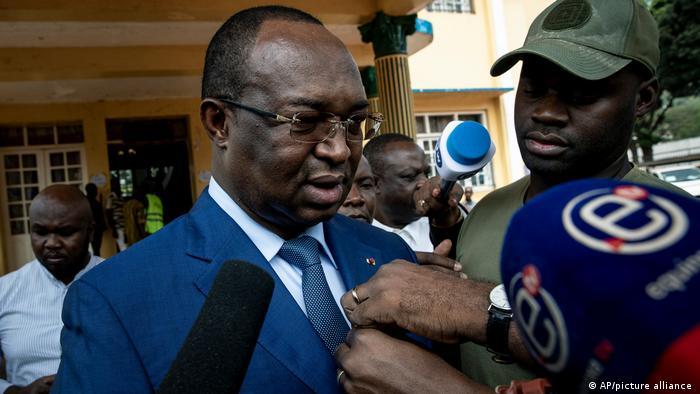 ZAR-Oppositionskandidat Anicet-Georges Dologuélé