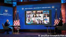 Wilmington, USA | Rede Joe Biden Videokonferenz Außenpolitik