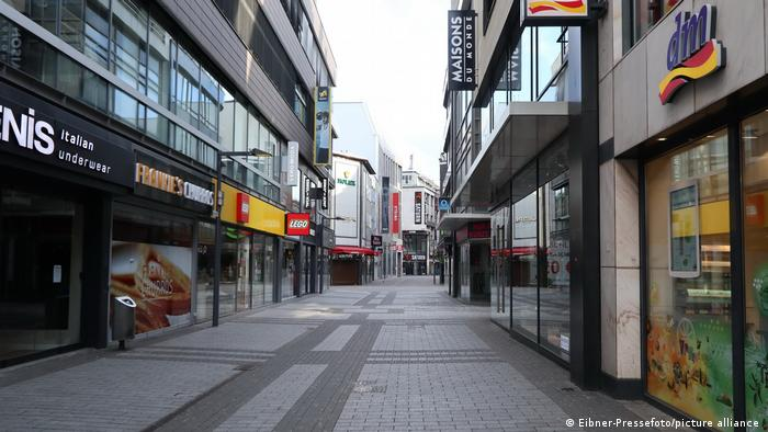 Symbolbild Deutschland Köln Lockdown Coronakrise