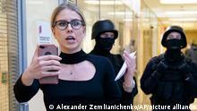 Russland Ljubow Sobol Oppositionelle