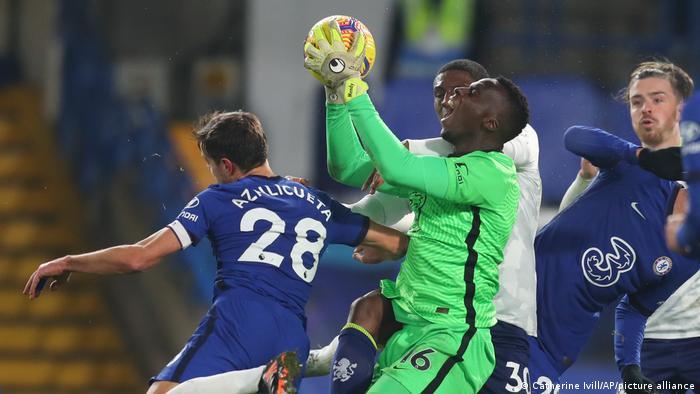 Britain Soccer Premier League Chelsea vs Aston Villa