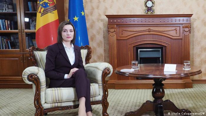 Republik Moldau | Präsidentin Maia Sandu