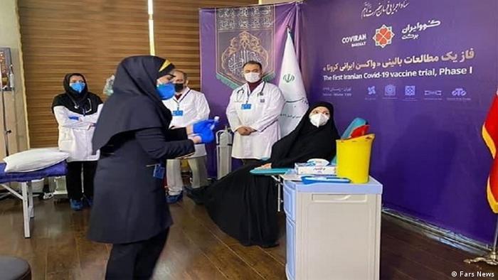 نخستین تست انسانی واکسن ایرانی کرونا