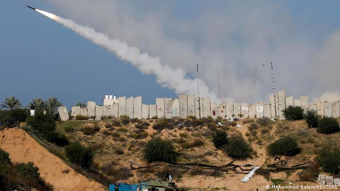 Ракети, изстреляни от ивицата Газа, поразиха цели на израелска територия