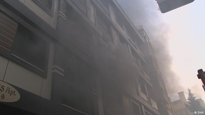 İtfaiye ekipleri yangına müdahale etti