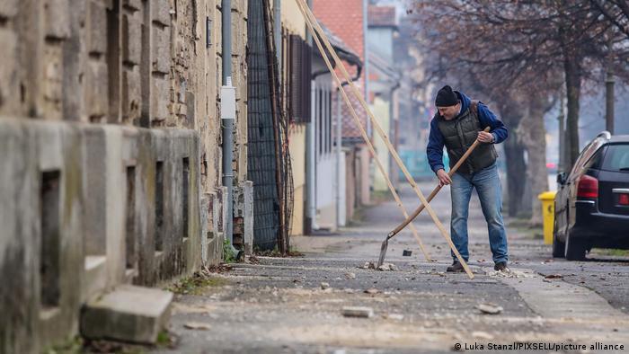 Petrinja I Erdbeben erschüttern Kroatien
