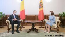 Republik Moldau | Klaus Iohannis und Maia Sandu