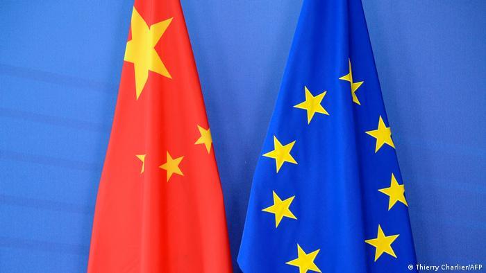 Symbolbild EU - China