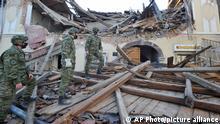 Kroatien Erdbeben Schäden in Petrinja