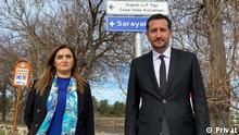 Türkei Sevda Erdan Kılıç und Ali Haydar Hakverdi