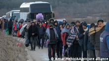 Bosnien Herzegowina Lager Lipa in Bihac wird evakuiert