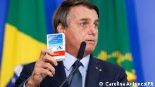 Brasilien Brasilia Präsident Jair Bolsonaro