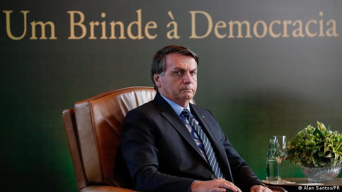 Brasilien Sao Paolo Präsident Jair Bolsonaro
