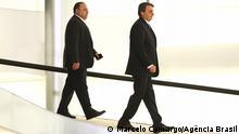 Brasilien Eduardo Pazuello und Jair Bolsonaro