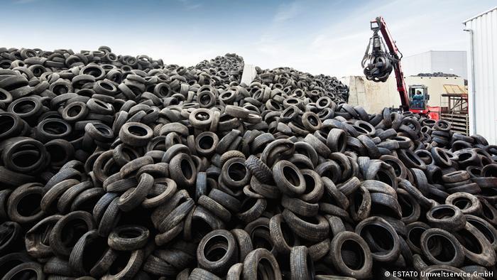 Blackcycle Projekt-Reifenrecycling