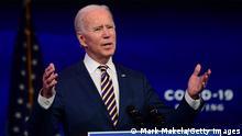USA Wilmington Rede Joe Biden