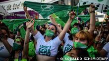 Argentinien Buenos Aires | Abtreibungsdebatte | Pro Legalisierung