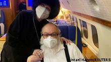 US Spion Jonathan Pollard landet in Israel