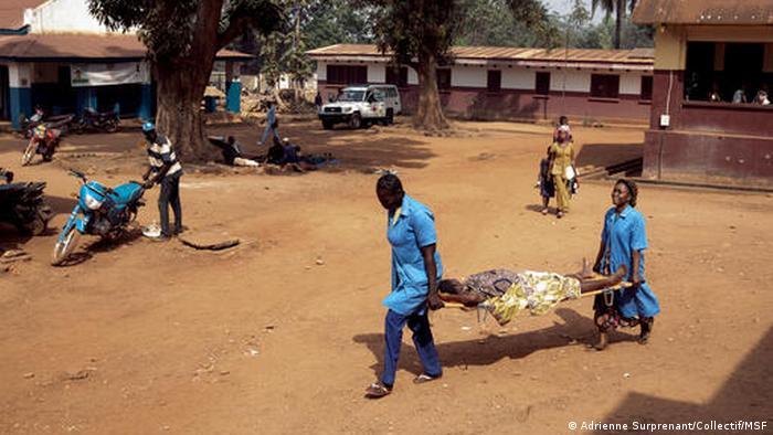MSF opère aussi dans un hôtpital de Bambari (RCA)