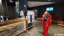 Bulgarien Corona l Tourismusministerin Nikolova im Skigebiet
