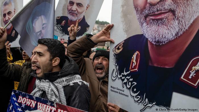 Qassem Soleimani was killed in a US drone strike on January 3, 2020