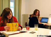 Mariana: 'Quero atingir um nível legal na língua para poder trabalhar em uma empresa alemã'