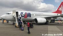 Mosambik l Flugzeug der LAM