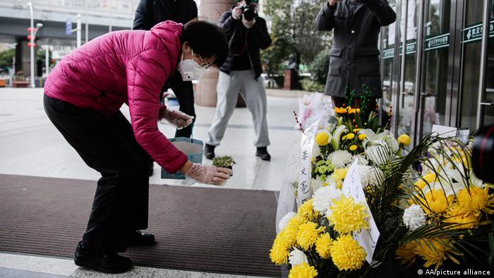 China   Coronavirus   Trauer um Wuhan Li Wenliang