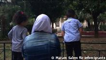 Geschichte von alleinerziehende Mutter in Griechenland. © Maram Salem für infomigrants
